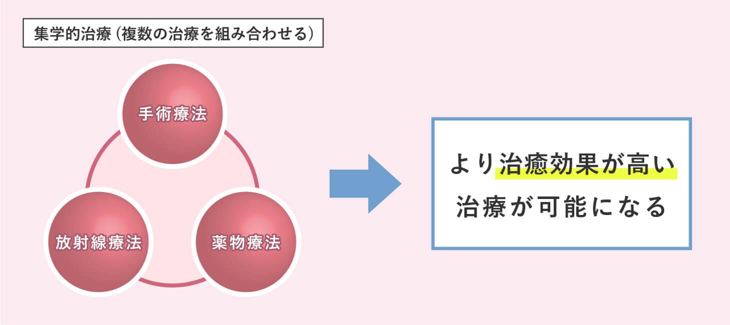 集学的治療の概念図