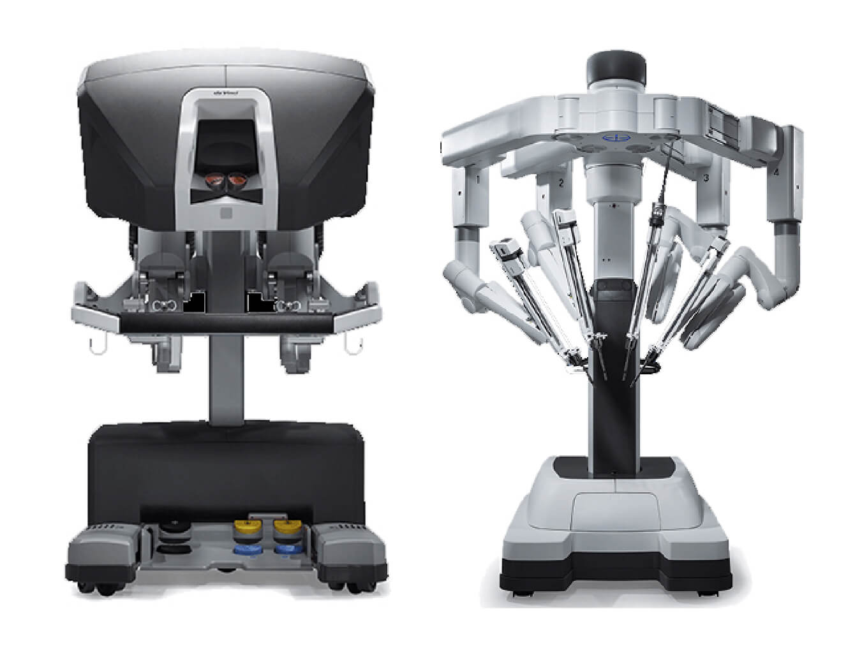 2) 手術支援ロボット(ダヴィンチ)